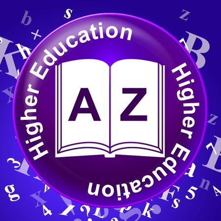 higher education: Higher Education Representing Graduate School And Learning