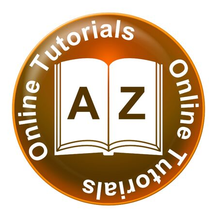 tutorials: Online Tutorials Meaning Web Site And Tuition Stock Photo