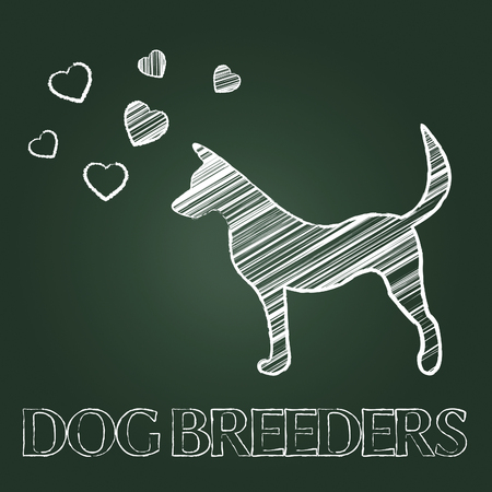 reproducing: Dog Breeders Meaning Pedigree Breeding And Reproduce