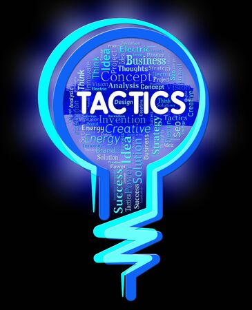 techniques: Tactics Lightbulb Indicating Strategy Systems And Techniques