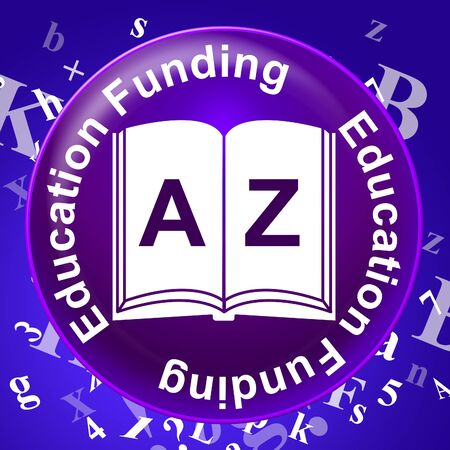 funded: Education Funding Meaning Finances Investment And Money
