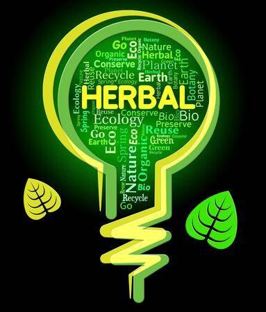 herbolaria: Bombilla de hierbas Campo Significado aire libre y verde