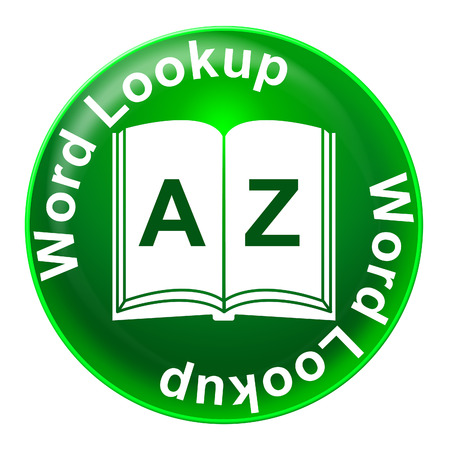 schooling: Word Lookup Representing Schooling Education And Training Stock Photo