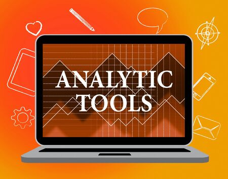 analytic: Analytic Tools Meaning Web Site And Computing