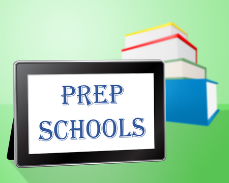 PrEP: Prep Schools Meaning Web Learn And Online Stock Photo