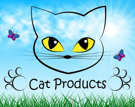 Cat Products Meaning Purchases Pedigree And Felines