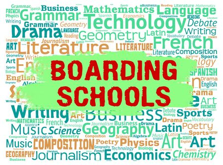 dormitories: Boarding Schools Showing Education Dorms And Learning