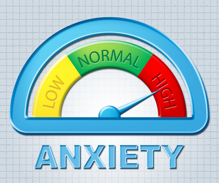 High Anxiety Indicating Max Stress And Fear