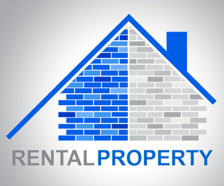 rental property: Rental Property Showing Real Estate And Household Stock Photo