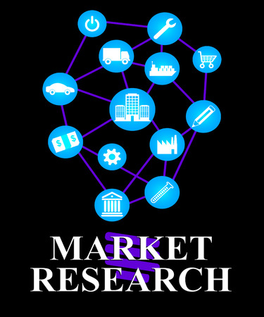 Market Research Showing For Sale And Inquiry