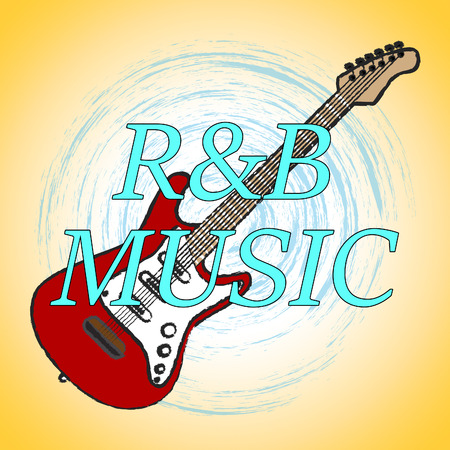 R&B Music Meaning Rhythm And Blues And Sound Track