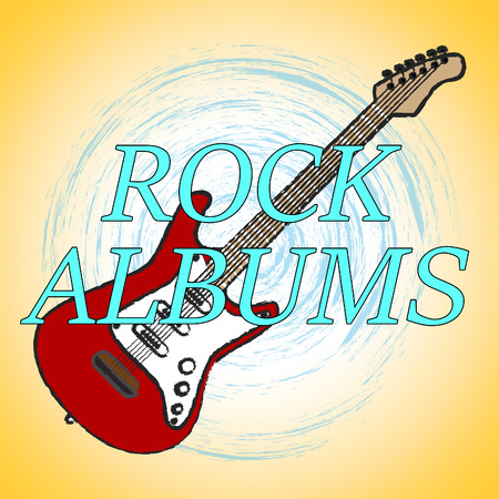 melody: Rock Albums Indicating Sound Track And Melody