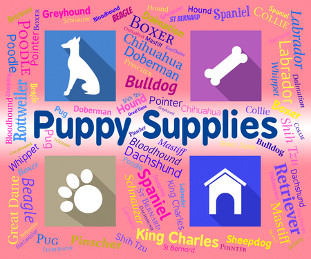 canine: Puppy Supplies Showing Canine Product And Pet