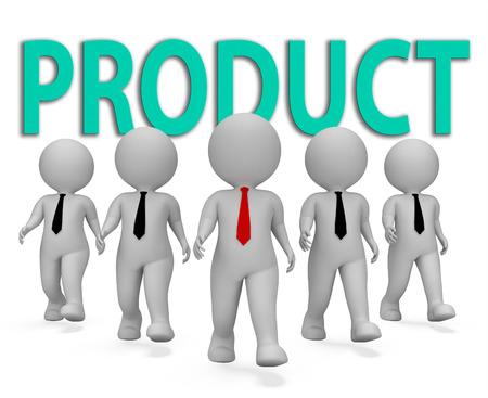 entrepreneurial: Product Businessmen Meaning Store Entrepreneurial And Goods 3d Rendering