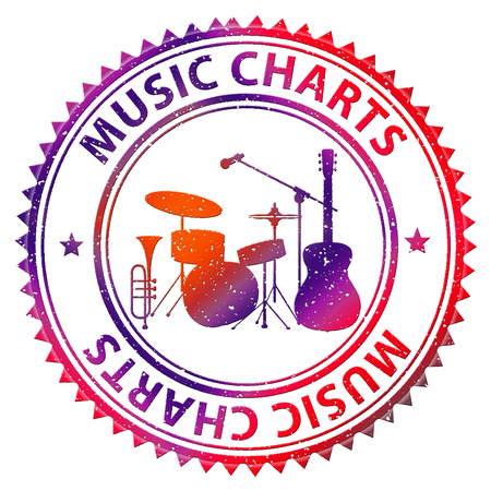 Music Charts Meaning Sound Track And Hit