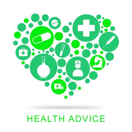 preventive medicine: Health Advice Indicating Preventive Medicine And Assistance