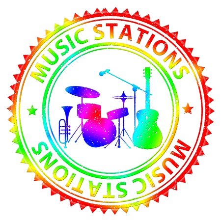Music Stations Meaning Audio Broadcasting And Internet