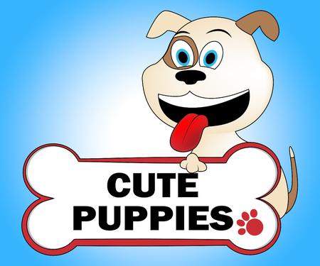 pups: Cute Puppies Meaning Pets Pups And Adorable