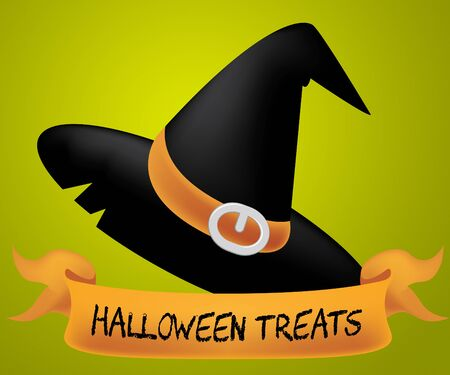 luxuries: Halloween Treats Meaning Luxuries Celebration And Candy Stock Photo