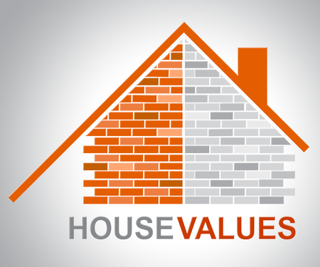 valued: House Values Representing Current Prices And Amount