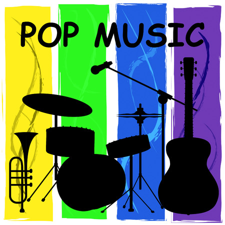 song: Pop Music Representing Harmonies Track And Song