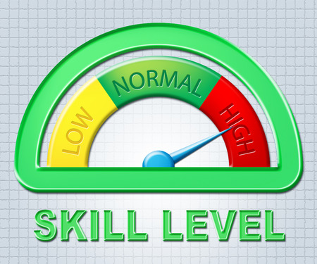 excess: High Skill Level Representing Excess Skills And Meter