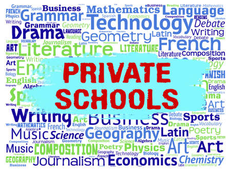 non: Private Schools Indicating Non Government And Studying