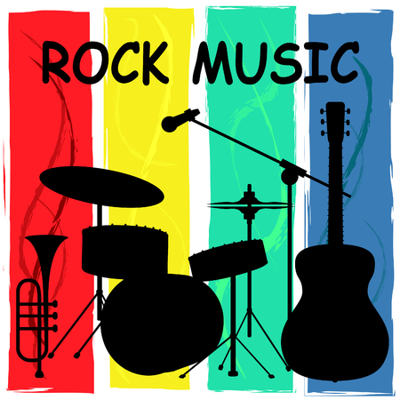 soundtrack: Rock Music Representing Sound Track And Song