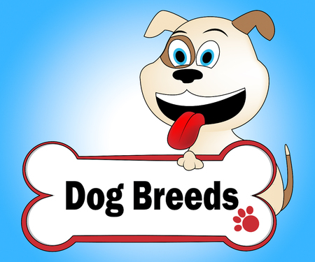 doggies: Dog Breeds Representing Breeder Purebred And Doggie