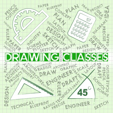 learned: Drawing Classes Representing Training Learned And Study