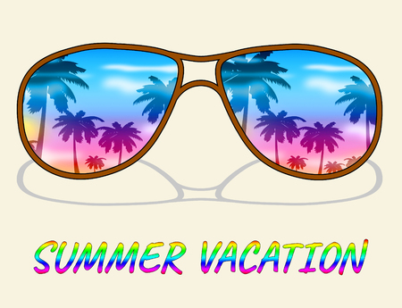 time off: Summer Vacation Meaning Time Off And Summertime