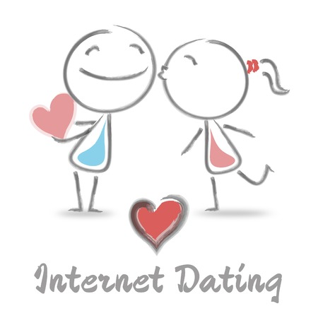 Internet Dating Showing Find Love And Network