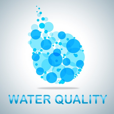 water quality: Water Quality Indicating Approve Perfection And Excellent