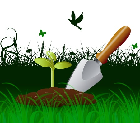 Gardening Trowel Meaning Outdoor Scoop And Agriculture