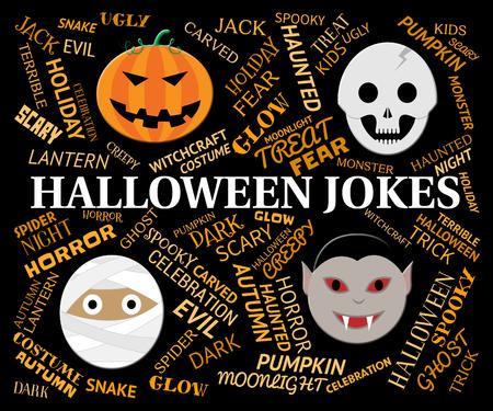 hilarious: Halloween Jokes Indicating Trick Or Treat And Hilarious
