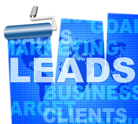 Sales Leads Representing Retail Market And Consumerism