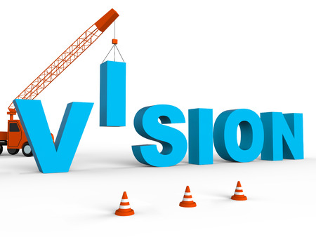 prediction: Build Vision Representing Target Aspirations And Building 3d Rendering