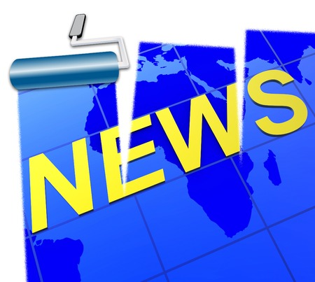 world news: World News Meaning Worldly Headlines And Globalisation
