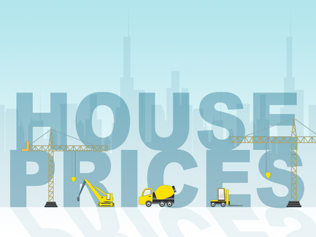 house prices: House Prices Indicating Real Estate And Housing