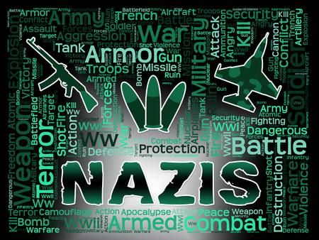 lejos: Nazis palabras que significan extrema derecha y lucha