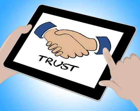trustworthiness: Trust Online Meaning Entrust Trustful And Trustworthiness