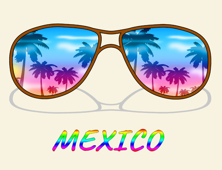 time off: Mexico Vacation Indicating Time Off And Vacational