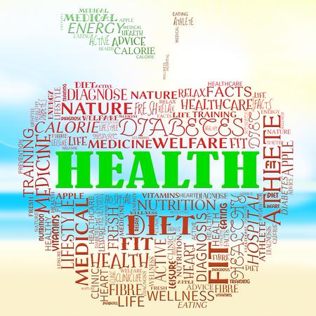 preventive medicine: Health Apple Showing Preventive Medicine And Examination