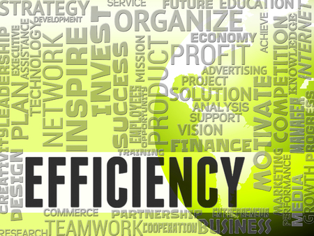 improved: Efficiency Words Meaning Improved Improve And Productivity
