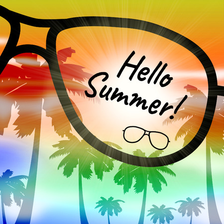 presently: Hello Summer Showing Go On Leave And Vacationing
