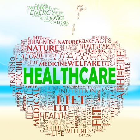 preventive medicine: Healthcare Apple Representing Preventive Medicine And Examination