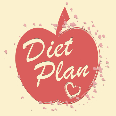 weightloss plan: Diet Plan Indicating Weight Loss And Plans