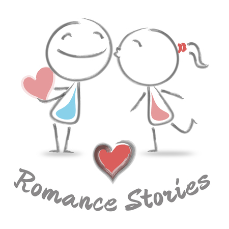 chronicle: Romance Stories Meaning Find Love And Romances Stock Photo