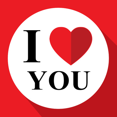 agreeable: Love You Representing Great Like And Adored Stock Photo