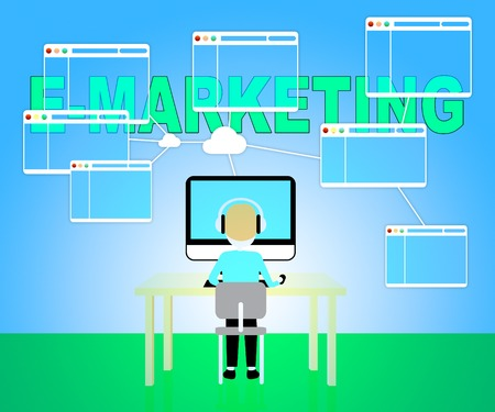 emarketing: Emarketing Online Showing Web Site And Www
